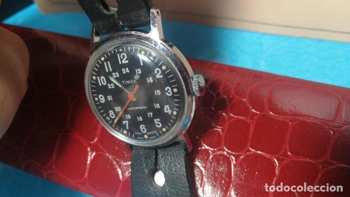 Relojes de pulsera: Botito reloj de cuerda estilo militar - Foto 22 - 140660010