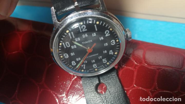 Relojes de pulsera: Botito reloj de cuerda estilo militar - Foto 23 - 140660010