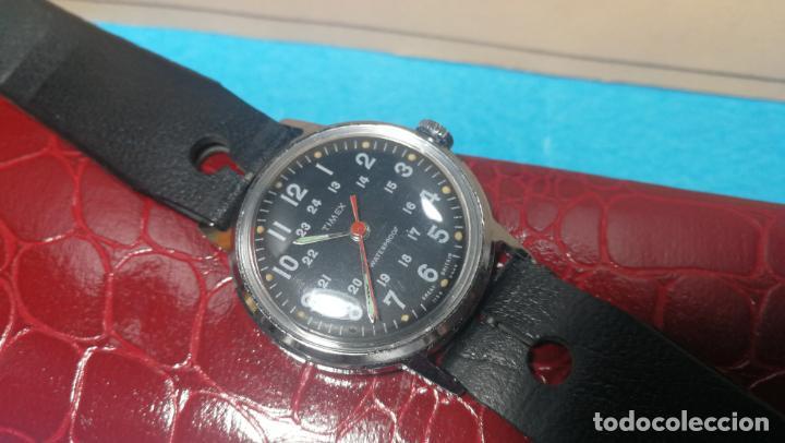 Relojes de pulsera: Botito reloj de cuerda estilo militar - Foto 24 - 140660010
