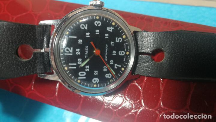 Relojes de pulsera: Botito reloj de cuerda estilo militar - Foto 25 - 140660010