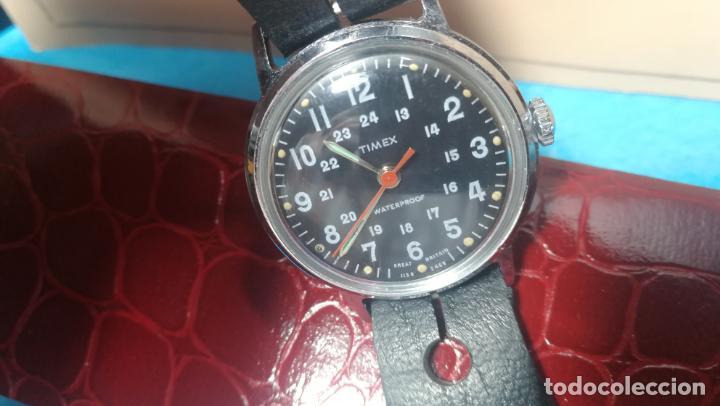 Relojes de pulsera: Botito reloj de cuerda estilo militar - Foto 26 - 140660010