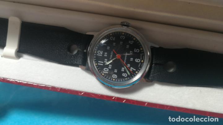 Relojes de pulsera: Botito reloj de cuerda estilo militar - Foto 29 - 140660010