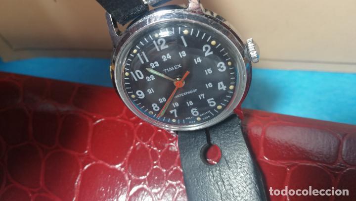 Relojes de pulsera: Botito reloj de cuerda estilo militar - Foto 31 - 140660010
