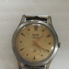 Relojes de pulsera: RELOJ CAUNY PRIMA LA CHAUX DE FONDS ANCRE 15 RUBIS ANTIMAGNETIC SWISS MADE. Lote 140801534