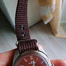 Relojes de pulsera: BONITO RELOJ VINTAGE SUIZO FORTIS IMITACIÓN MADERA NUEVO. . Lote 140891390