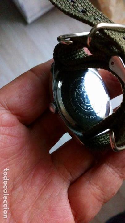 Relojes de pulsera: BONITO RELOJ VINTAGE SUIZO ROAMER DEPORTIVO NUEVO. - Foto 2 - 140891734