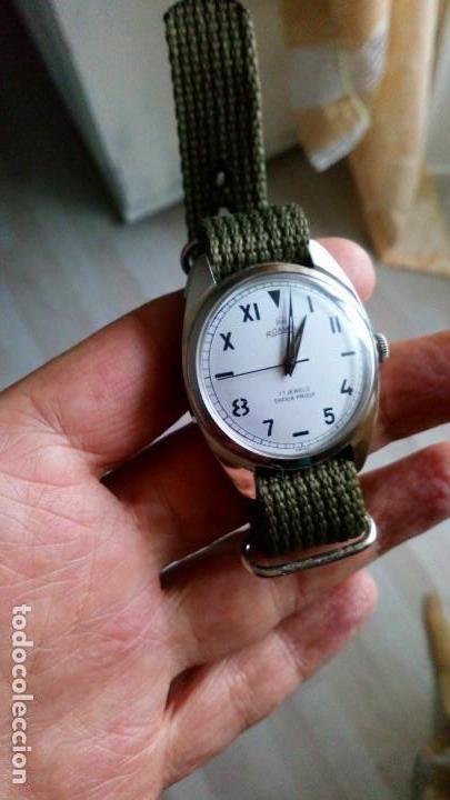 Relojes de pulsera: BONITO RELOJ VINTAGE SUIZO ROAMER DEPORTIVO NUEVO. - Foto 4 - 140891734