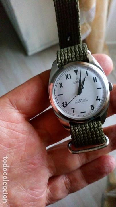 BONITO RELOJ VINTAGE SUIZO ROAMER DEPORTIVO NUEVO. (Relojes - Pulsera Carga Manual)