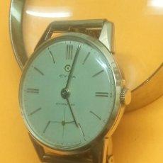 Relojes de pulsera: CYMA - MANUAL. AÑOS 50. R. 586 - K P.ORO 20 M. 36.1 S/C. FUNCIONANDO. REVISADO TALLER. PERFECTO.. Lote 140904678