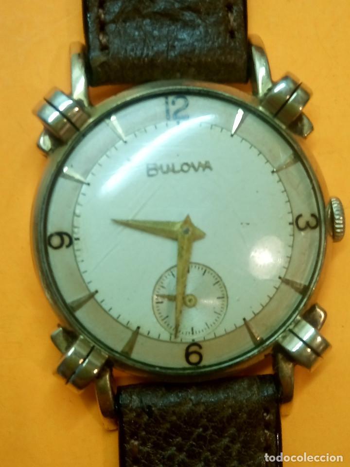 RELOJ BULOVA - MANUAL. AÑOS 50. FUNCIONANDO. CALIBRE 10 BT. TODO ORIGINAL. INFO EN DESCRIPCION. (Relojes - Pulsera Carga Manual)