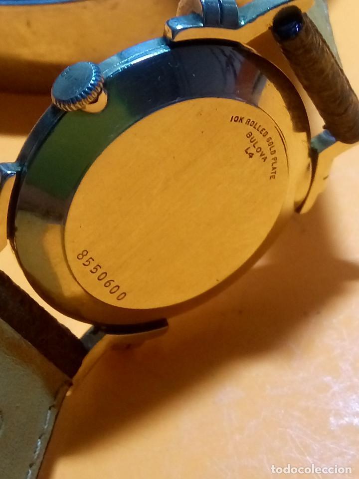 Relojes de pulsera: RELOJ BULOVA - MANUAL. AÑOS 50. FUNCIONANDO. CALIBRE 10 BT. TODO ORIGINAL. INFO EN DESCRIPCION. - Foto 3 - 141165558