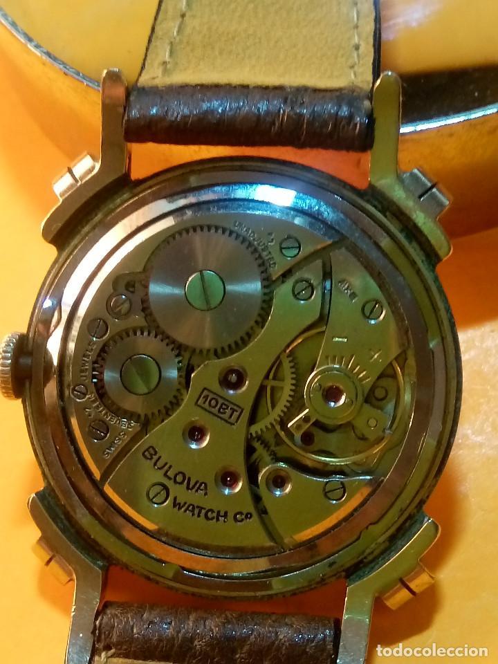 Relojes de pulsera: RELOJ BULOVA - MANUAL. AÑOS 50. FUNCIONANDO. CALIBRE 10 BT. TODO ORIGINAL. INFO EN DESCRIPCION. - Foto 5 - 141165558