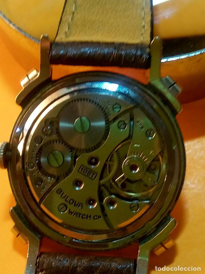 Relojes de pulsera: RELOJ BULOVA - MANUAL. AÑOS 50. FUNCIONANDO. CALIBRE 10 BT. TODO ORIGINAL. INFO EN DESCRIPCION. - Foto 6 - 141165558