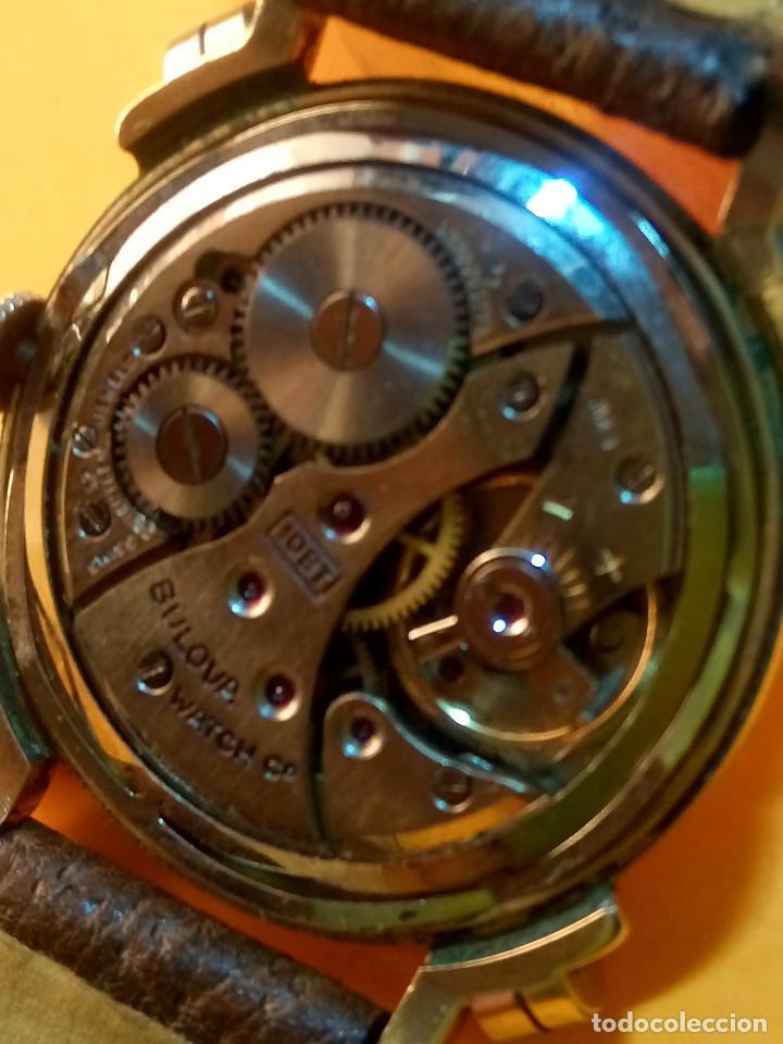 Relojes de pulsera: RELOJ BULOVA - MANUAL. AÑOS 50. FUNCIONANDO. CALIBRE 10 BT. TODO ORIGINAL. INFO EN DESCRIPCION. - Foto 7 - 141165558
