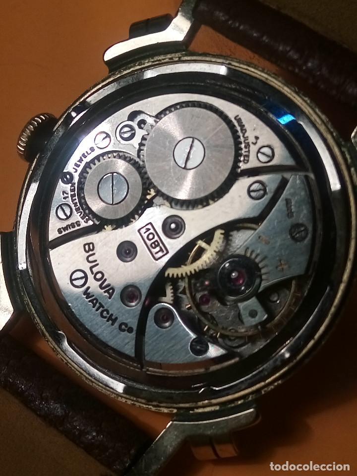 Relojes de pulsera: RELOJ BULOVA - MANUAL. AÑOS 50. FUNCIONANDO. CALIBRE 10 BT. TODO ORIGINAL. INFO EN DESCRIPCION. - Foto 8 - 141165558