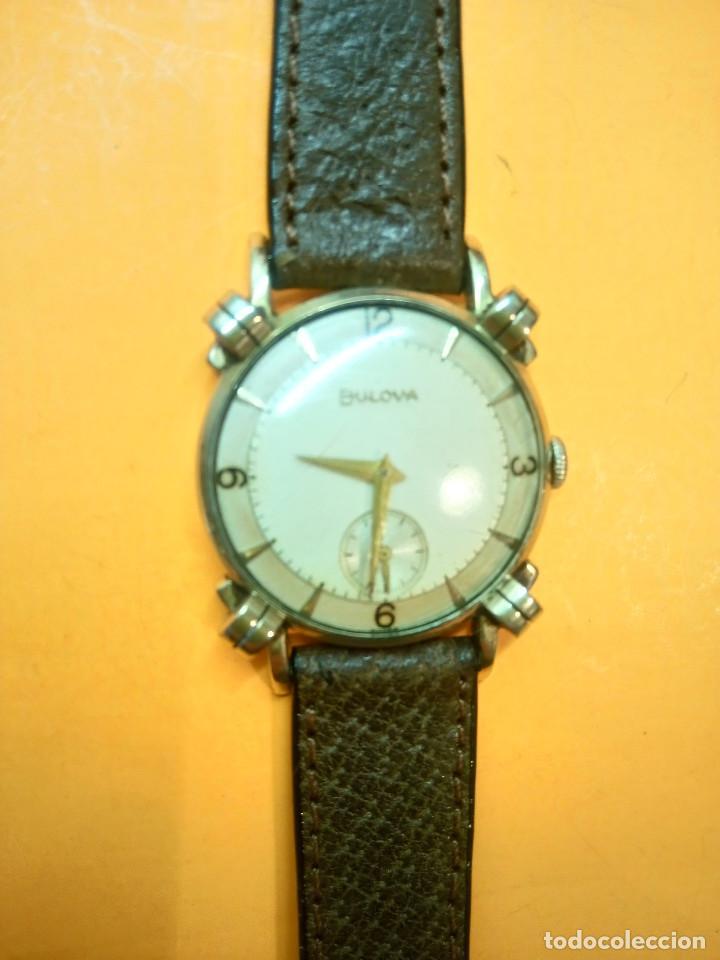 Relojes de pulsera: RELOJ BULOVA - MANUAL. AÑOS 50. FUNCIONANDO. CALIBRE 10 BT. TODO ORIGINAL. INFO EN DESCRIPCION. - Foto 10 - 141165558