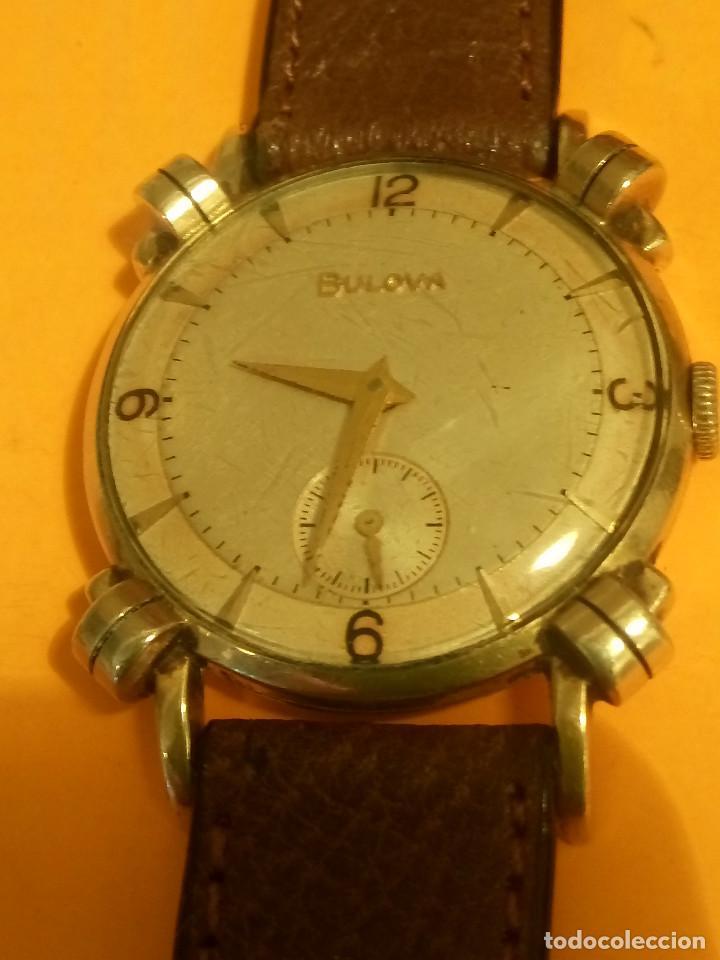 Relojes de pulsera: RELOJ BULOVA - MANUAL. AÑOS 50. FUNCIONANDO. CALIBRE 10 BT. TODO ORIGINAL. INFO EN DESCRIPCION. - Foto 11 - 141165558