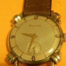Relojes de pulsera: RELOJ BULOVA - MANUAL. AÑOS 50. FUNCIONANDO. CALIBRE 10 BT. TODO ORIGINAL. INFO EN DESCRIPCION.. Lote 141165558