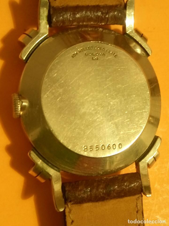 Relojes de pulsera: RELOJ BULOVA - MANUAL. AÑOS 50. FUNCIONANDO. CALIBRE 10 BT. TODO ORIGINAL. INFO EN DESCRIPCION. - Foto 12 - 141165558