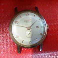 Relojes de pulsera: RELOJ SUIZO, CALENDARIO. THUSSY FUNCIONA. Lote 141234610