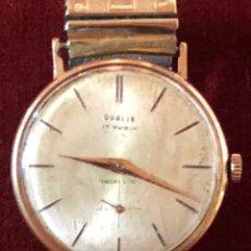 Relojes de pulsera: RELOJ DUBLIN 17 RUBIS SWISS MADE HOMBRE. Lote 141261113