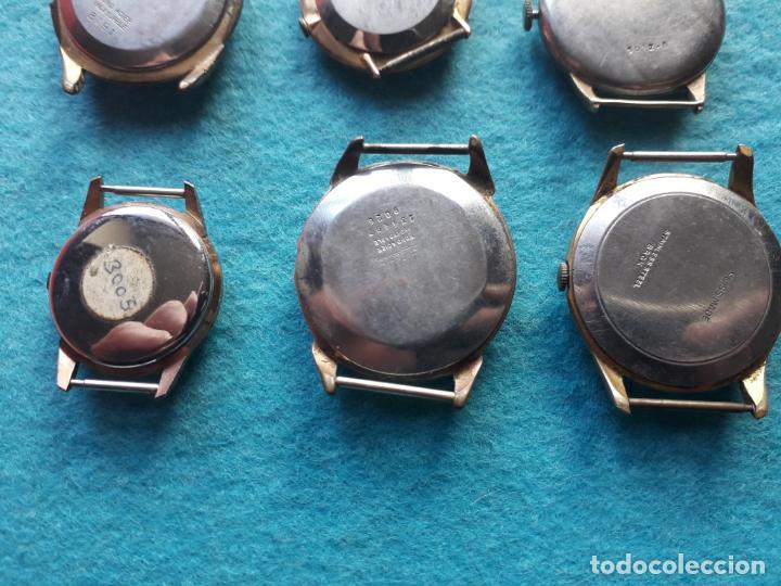 Relojes de pulsera: Lote de 9 Relojes mecánicos antiguos para caballero. Fortis, Festina, Halcón, Roamer, Cyma... - Foto 7 - 141308234