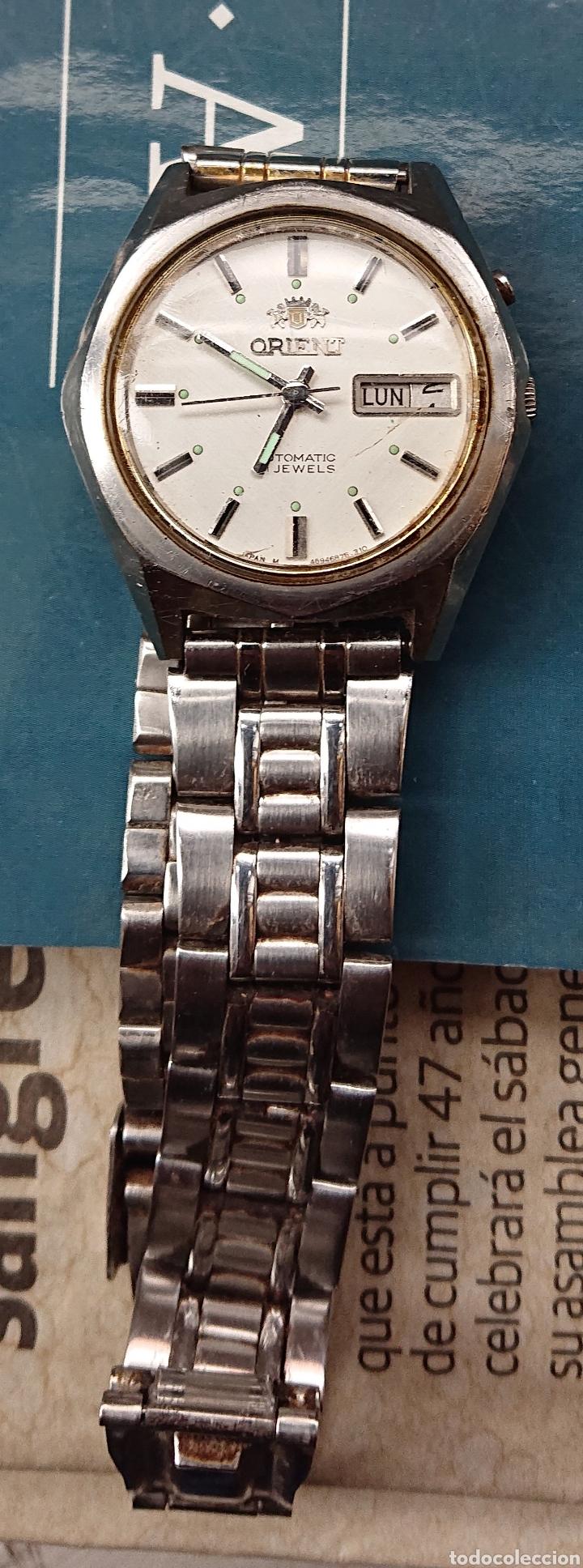 Relojes de pulsera: Lote tres relojes pulsera, seiko, orient, duward, ved fotos - Foto 2 - 141310710