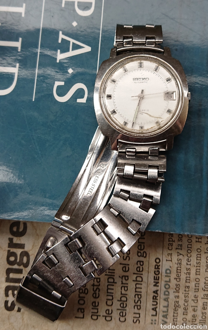 Relojes de pulsera: Lote tres relojes pulsera, seiko, orient, duward, ved fotos - Foto 3 - 141310710