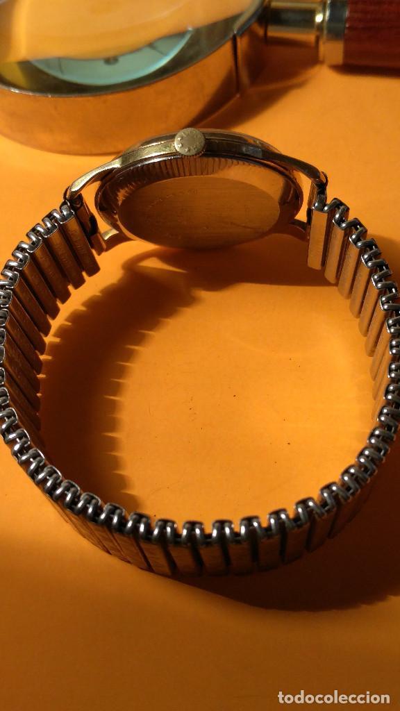 Relojes de pulsera: RELOJ DOGMA - MANUAL. AÑOS 50. BUEN ESTADO. P.ORO 10 M. FUNCIONANDO BIEN. DESCRIPCION Y FOTOS. - Foto 3 - 141450886