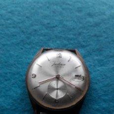 Relojes de pulsera: RELOJ MARCA JUSTINA. CLÁSICO DE CABALLERO.. Lote 141754430