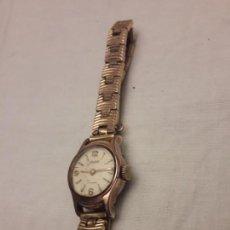 Relojes de pulsera: MAGNIFICO RELOJ DUWARD PLAQUE OR G DE 10 MICRONS SWISS. Lote 141852826