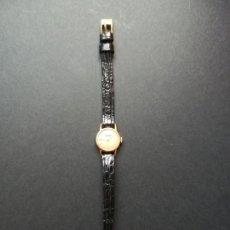 Relojes de pulsera: RELOJ DUWARD DE ORO PARA MUJER - CONTRASTES. Lote 142058305