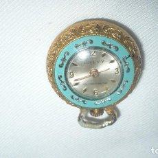 Relojes de pulsera: RELOJ CHEVY DE SEÑORA CHAPADO EN ORO. PARA REPARAR. Lote 142071406