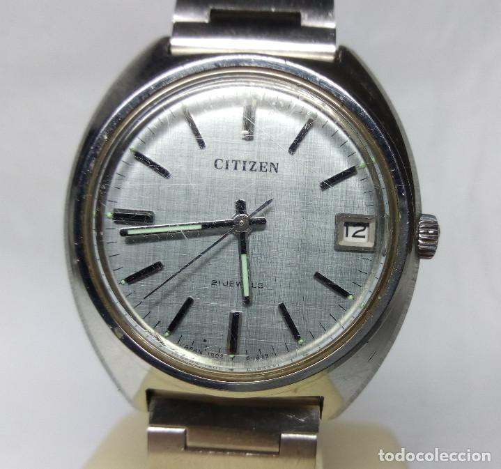 RELOJ CITIZEN DE CARGA MANUAL 21 JEWELS - CAJA 36 MM - FUNCIONANDO (Relojes - Pulsera Carga Manual)