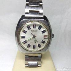 Relojes de pulsera: RELOJ CITIZEN DE CARGA MANUAL 21 JEWELS - CAJA 38 MM - FUNCIONANDO. Lote 142081946