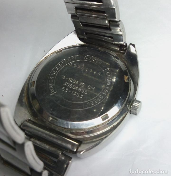 Relojes de pulsera: RELOJ CITIZEN DE CARGA MANUAL 21 JEWELS - CAJA 38 mm - FUNCIONANDO - Foto 4 - 142081946