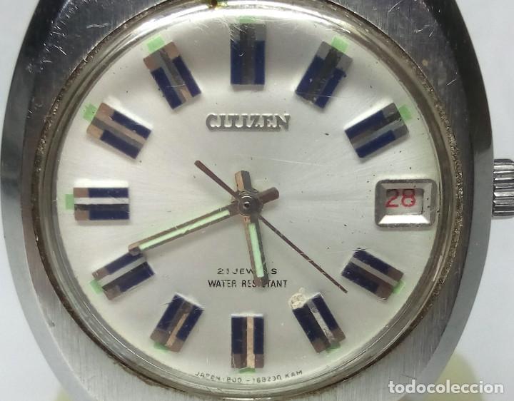 Relojes de pulsera: RELOJ CITIZEN DE CARGA MANUAL 21 JEWELS - CAJA 38 mm - FUNCIONANDO - Foto 5 - 142081946