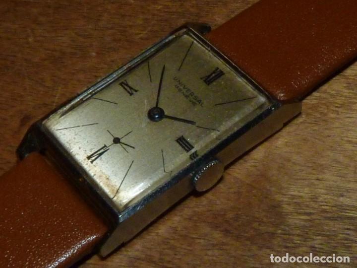 Relojes de pulsera: Bello reloj Universal Geneve swiss made raro calibre 230 años 40 difícil elegante vintage colección - Foto 2 - 142276390