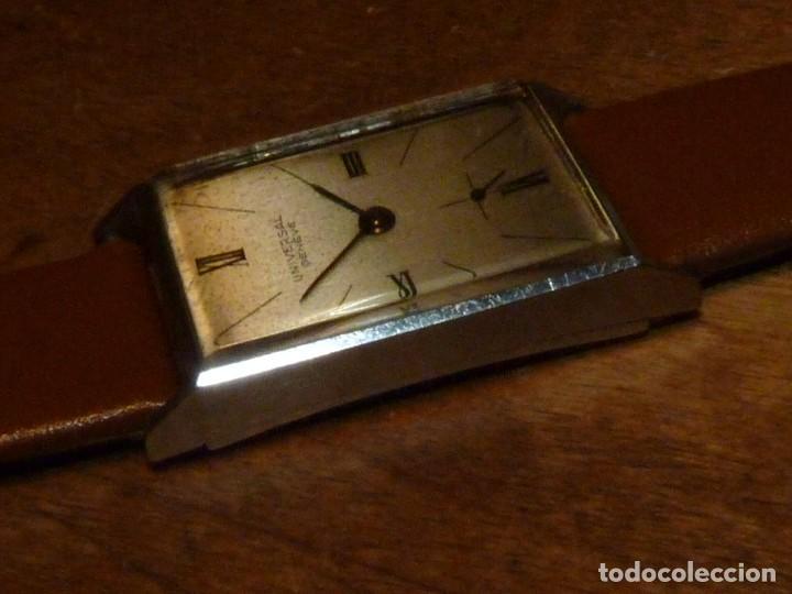 Relojes de pulsera: Bello reloj Universal Geneve swiss made raro calibre 230 años 40 difícil elegante vintage colección - Foto 4 - 142276390