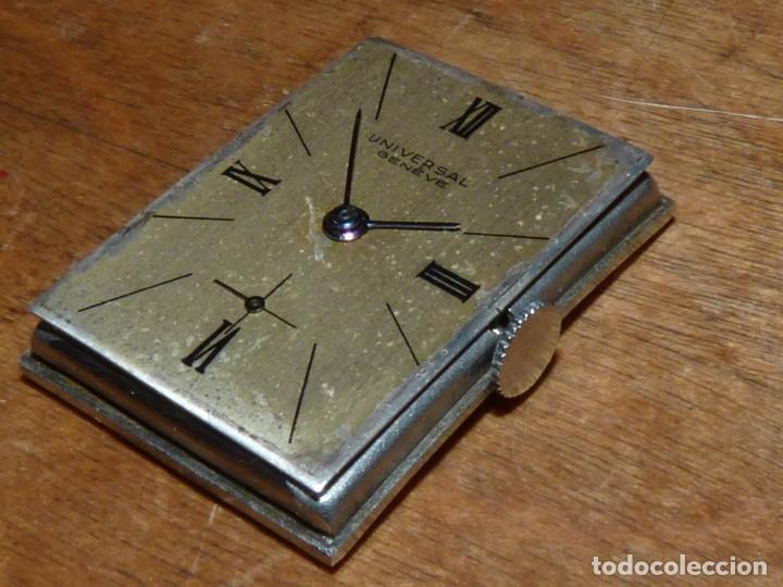 Relojes de pulsera: Bello reloj Universal Geneve swiss made raro calibre 230 años 40 difícil elegante vintage colección - Foto 9 - 142276390