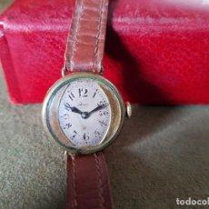 Relojes de pulsera: ANTIGUO RELOJ DE PULSERA ART DECÓ, AÑOS 20-30, BAÑO DE ORO.. Lote 142505570