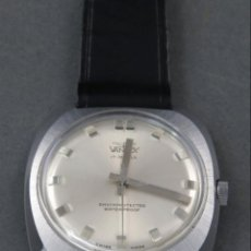Relojes de pulsera: RELOJ CABALLERO CUERDA VANROY INCABLOC 17 JEWELS WATERPROOF SWISS MADE ETIQUETA ORIGINAL FUNCIONA. Lote 142571018