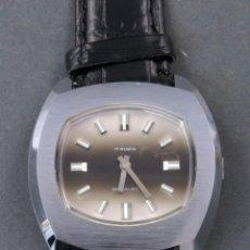 Relojes de pulsera: RELOJ CABALLERO CUERDA VANROY 17 RUBIS INCABLOC SWISS MADE FUNCIONA. Lote 142572022