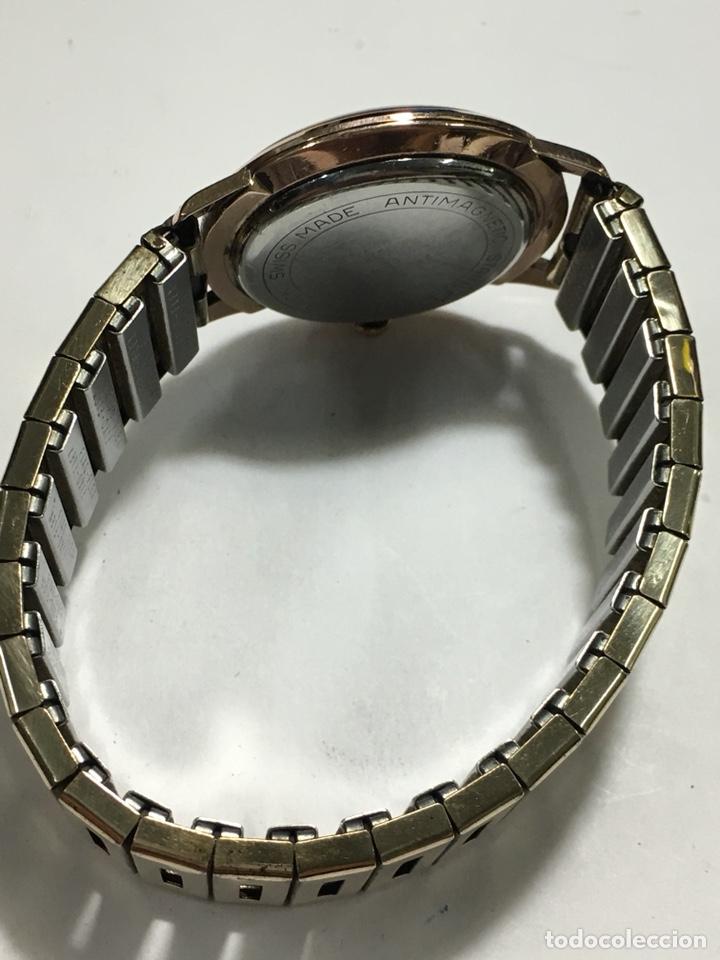 Relojes de pulsera: Reloj Oscar 17 rubis carga manual y caja chapada oro con correa flexible chapada oro - Foto 3 - 142600865