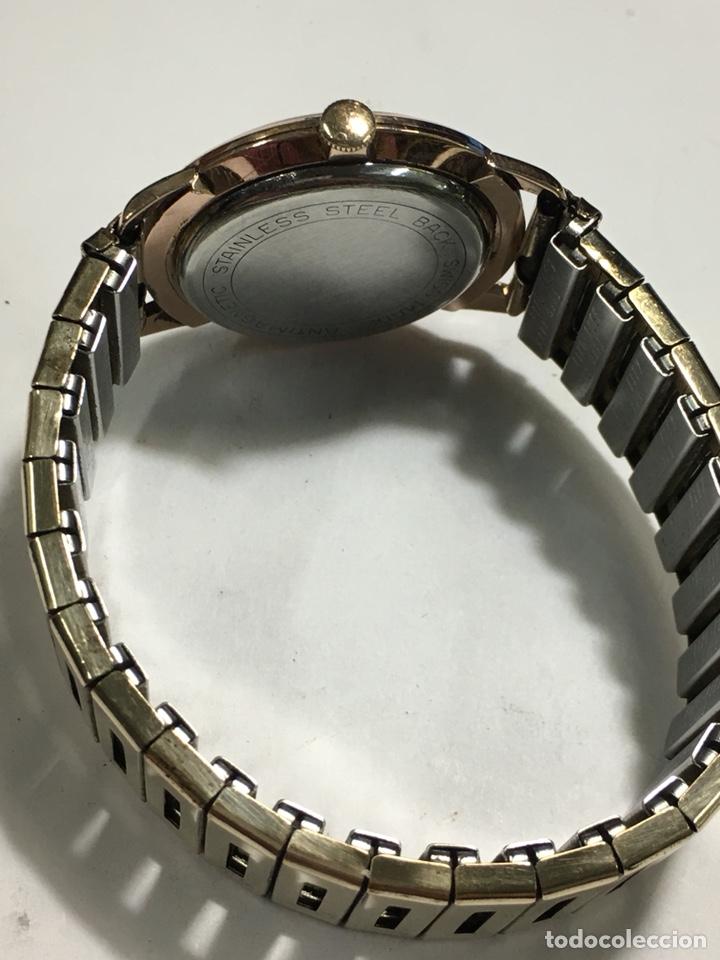 Relojes de pulsera: Reloj Oscar 17 rubis carga manual y caja chapada oro con correa flexible chapada oro - Foto 4 - 142600865