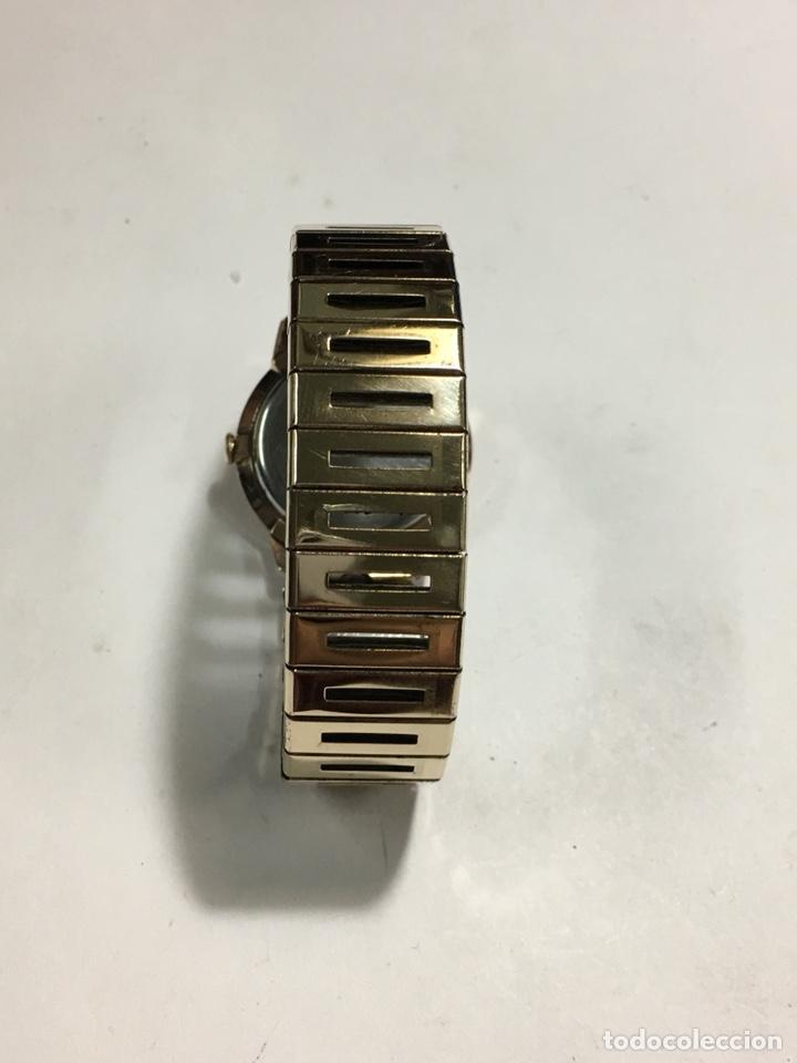 Relojes de pulsera: Reloj Oscar 17 rubis carga manual y caja chapada oro con correa flexible chapada oro - Foto 6 - 142600865