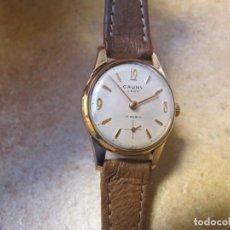 Relojes de pulsera: ANTIGUO RELOJ DE CUERDA CAUNY PRIMA LADY. Lote 142731518