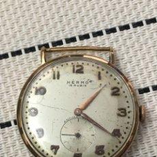 Relojes de pulsera: RELOJ HERMO 15 RUBIS 35,5 MM FUNCIONA LEER. Lote 142747170
