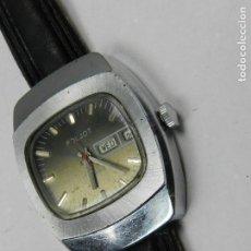 Relojes de pulsera: ANTIGUO RELOJ A CUERDA PULSERA MARCA POLJOT CALENDARIO USSR VINTAGE AÑOS 60. Lote 142783134