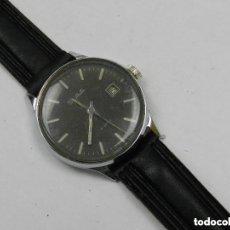 Relojes de pulsera: ANTIGUO RELOJ PULSERA SLAVA AÑOS 60 USSR RUSIA CALENDARIO CARGA MANUAL. Lote 142783250